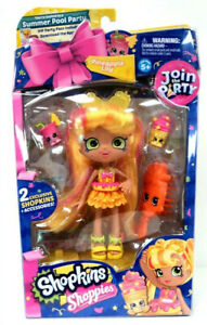 SHOPKINS SHOPPIES Join The Party  Pineapple Lily Extremely Hard To Find..