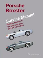 PORSCHE BOXSTER 986 S Owners Service Repair Workshop Manual Handbook Book BOXTER