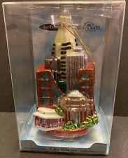 Kurt Adler Glass San Francisco Ornament