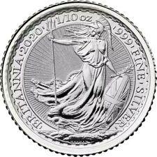 New Listing2020 Platinum 1/10 oz .9995 Great Britain Britannia 10 Pounds Brilliant Unc+