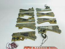 Aj956-2# liasse Märklin h0/00/ac main + E-doux/Croisement Vorkrieg/3600/800