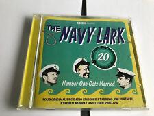 The Navy Lark Number One Gets Married v. 20 Evans George 2 CD-Audio Book MINT/EX