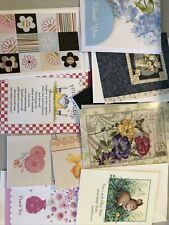 Greeting Cards Lot Assorted Greetings And Thank You Cards 60+