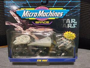 Vintage 1995 Galoob Micro Machines Space (3) III STAR WARS #65860 Sealed