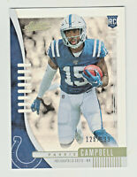 2019 Absolute ROOKIE SPECTRUM #134 PARRIS CAMPBELL RC Rookie 128/199 Colts