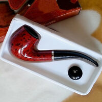2016  Rosewood Enchase Smoking Pipe Tobacco Cigarettes Cigar Pipes Gift Wooden