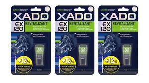 XADO EX120 Gel Revitalizant Manual Gearbox, transmission, differential SET 3 pqs