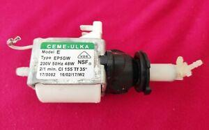 POMPE ULKA CEME EP5GW ELECTROPOMPE 48W modèle E NSF Dolce Gusto ou BRUMISATEUR