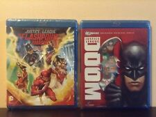 DCU:Justice League: The Flashpoint Paradox + Justice League: Doom (Blu-ray) NEW