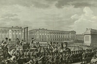 Framed Print - Execution of Louis XVI by Guillotine France 1793 (Picture Death)