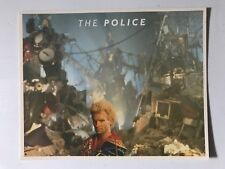 The Police Sting 1984 Freezz Frame 8x10 Photo Extremely Rare