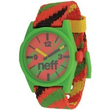Neff Daily Watch Tissé Montre Rasta / Reggae