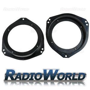 "FOR IMPREZA (93-07) Speaker Adaptors Rings 130mm 5.25"" Classic/Bugeye/Blobeye"