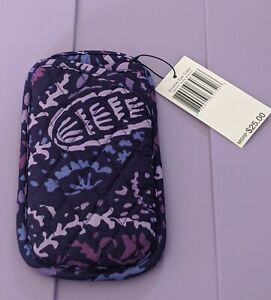 Vera Bradley Paisley Amethyst Double Eye Case Eyeglasses Purple