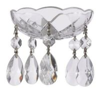 Asfour Lead Crystal Bobeche with 38mm Teardrop Chandelier Crystals Lamp Parts