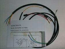 IMPIANTO ELETTRICO ELECTRICAL WIRING GILERA TRIAL 50 CON SCHEMA ELETTRICO