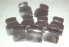 90 NEW HINGED BROWN HAIR STYLING ROLLERS CURLERS REPLACEMENT CLIPS BODY UP SETS