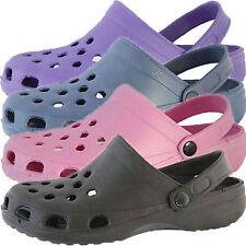 Mens Womens Unisex Shower Mules Beach Clogs Garden Shoes Sizes UK 5-12