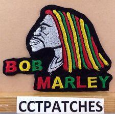 BOB MARLEY REGGAE FACE PATCH