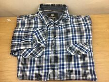 Timberland Earthkeeper Slim Fit Men`s Long Sleeve  Checked Shirt Size L