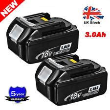 2x 3Ah Battery for Makita DMR109 DMR109W LXT CXT DAB Jobsite Radio BL1830 BL1840
