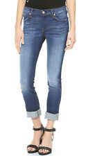 7 FOR ALL MANKIND The Modern Straight Leg Jeans Aggressive Heritage Blue sz 25