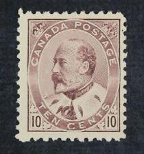 CKStamps: Canada Stamps Collection Scott#93 Edward Mint H OG