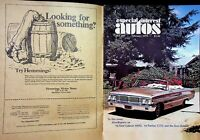 Vtg Special Interest Autos Magazine Feb 1979 64 Ford Galaxie 500 XL m1368