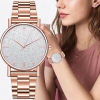 Women Luxury Watches Quartz Watch Stainless Steel Dial Bracelet Wrist Watch Gift