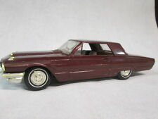 1965  Ford Thunderbird Brown Dealer Promo Model Car