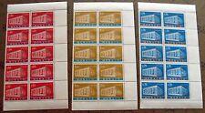 MONACO - timbre yvert et tellier n°789 a 791 x10 n**-stamp monaco