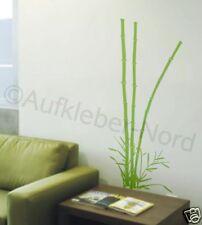bambou ARBUSTE Stickers muraux Plant mural B8 - 80cm salle de bain Maritime