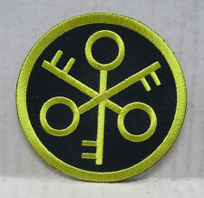 "Outland Movie Crossed Keys Security Division Logo 3"" Embroidered Patch (OLPA-05)"