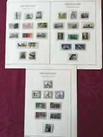 WEST GERMANY(BRD) 1985: 32 stamps  MNH** VF, 3 album pages