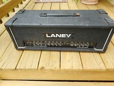 1980's Laney Pro Linebacker PL50 Reverb  Amplifier Head