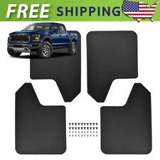 4x Wide Mud Flaps Mudflaps Mudguards Splash Guards For Ford F150 F-150 F250