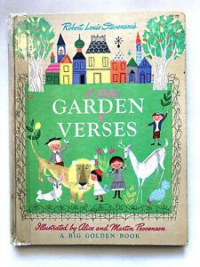 A Child's Garden of Verses 1951 Big Golden Book Stevensen