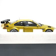1/18 MINICHAMPS BMW M3 GTR PHOENIX YELLOW STREET 2001 DEALER EDITION