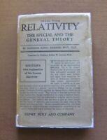 RELATIVITY - Albert Einstein - 1st HCDJ 1921 Holt - E=MC2 special general theory