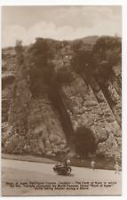 Rock Of Ages Burrington Combe Cheddar Somerset Vintage RP Postcard 756b