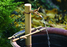 "Bamboo Accents Fountain 18"" Adjustable Water Fountain & Pump Kit Indoor Outdoor"