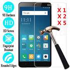 Lot Xiaomi Redmi Note 4 5A 9H Premium Tempered Glass Screen Protector Guard Film