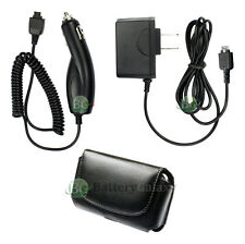 AC + Car Charger + Case Cell Phone for LG vx5400 vx8350