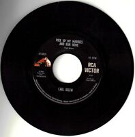 """CARL BELEW! - """" PICK UP MY MARBLES AND GO HOME"""" B/W """"POSSUM HOLLER"""" VPI CLEANED!"""