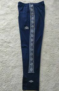 Mens Umbro England Rugby Presentation Sport Training Casual Trousers Pants