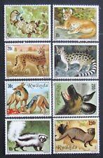 Rwanda -Fauna-Animals-8 St.-MNH**,RW 009