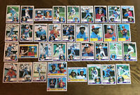 1983 MONTREAL EXPOS Topps COMPLETE MLB Team Set 34 Cards RAINES CARTER OLIVER!