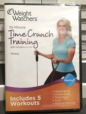 """Weight Watchers 10-Minute Time Crunch Training """"DVD Only"""" - Band Not Included"""