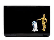 Star Wars R2-D2 C-3PO Vinyl Laptop or Automotive Art FREE SHIPPING, notebook