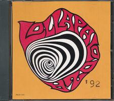 Lollapalooza '92 RARE promo CD sampler (Pearl Jam, Soundgarden) (never played)